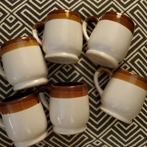 Vintage Kitchen - Vintage Ombre Coffee Mugs - 6 pcs
